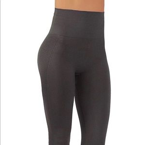 Pants - Gray High Waist seamless Workout dry fit Leggings